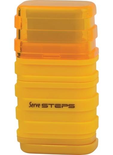 Serve Steps Sılgılı Kalemtıras Sarı Teklı Renkli